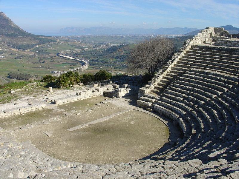 Segesta theatre
