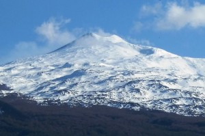 Etna volcano from the countryside of Randazzo, photo by Pequod 76 on wikipedia