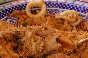 Trapanese couscous