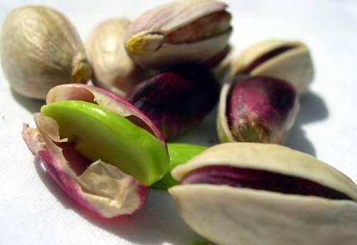 Bronte green pistachios
