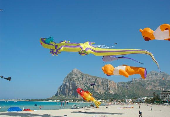 International kite festival in San Vito Lo Capo