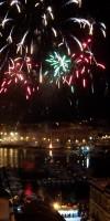 Saint Lucy's day fireworks