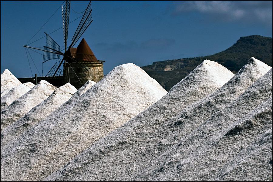 Trapani salt pans