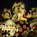 Carnival float in Acireale