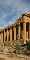 The Temple of Concordia in the Valley of the Temples, Agrigento