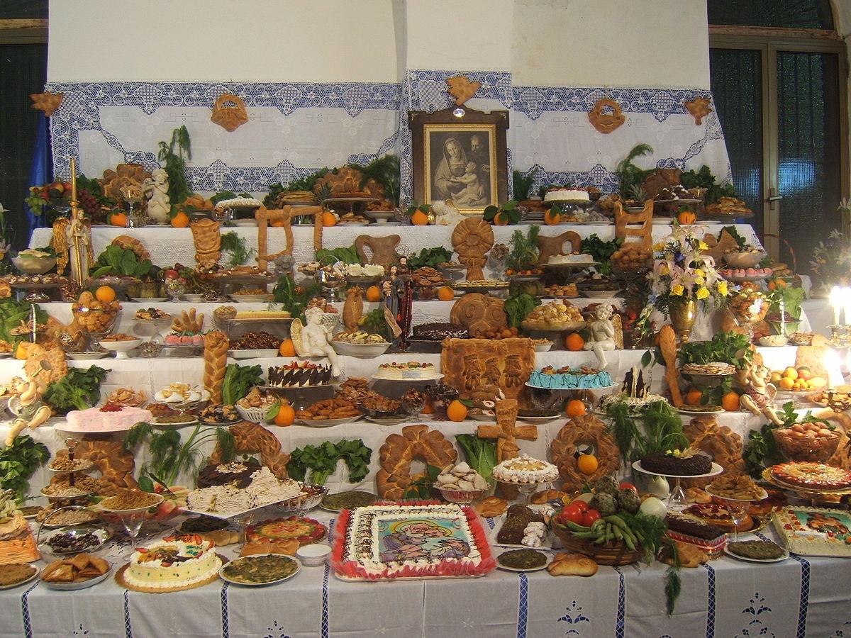 Feast of st joseph in marettimo island scent of sicily blog - San vito a tavola ...