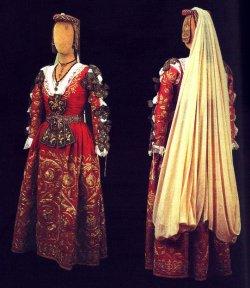 costume tradizionale piana