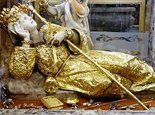 statua santa rosalia